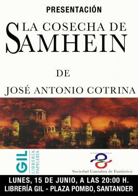 PRESENTACIÓN DEL ÚLTIMO LIBRO DE JOSÉ ANTONIO COTRINA