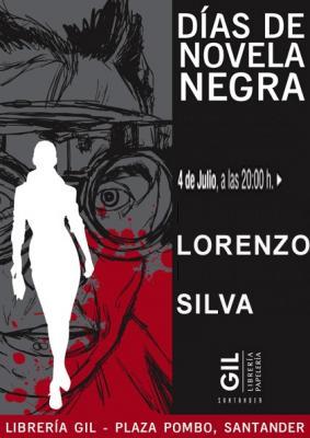 ENCUENTRO DE NOVELA NEGRA EN LA LIBRERÍA GIL DE SANTANDER